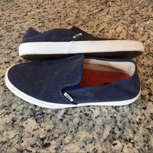 M Vans Surf Siders Slip On Shoes